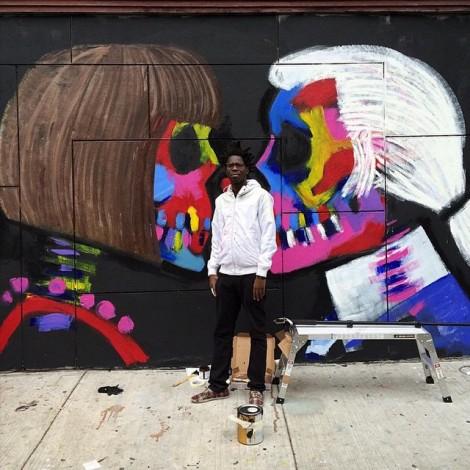 Bradley Theodore: lo street artist del #fashion