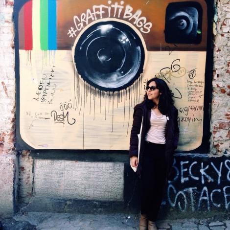 Instagram sui muri di Istanbul grazie a @graffitibags