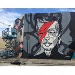 David Bowie by @davidefloresart a Miami