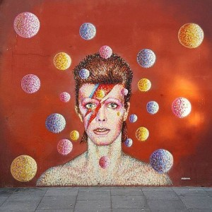 David Bowie by James Cochran (@akajimmyc) a Brixton - Londra. Ph. @c_3