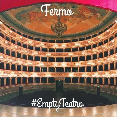 #EmptyTeatro al Teatro dell'Aquila a Fermo
