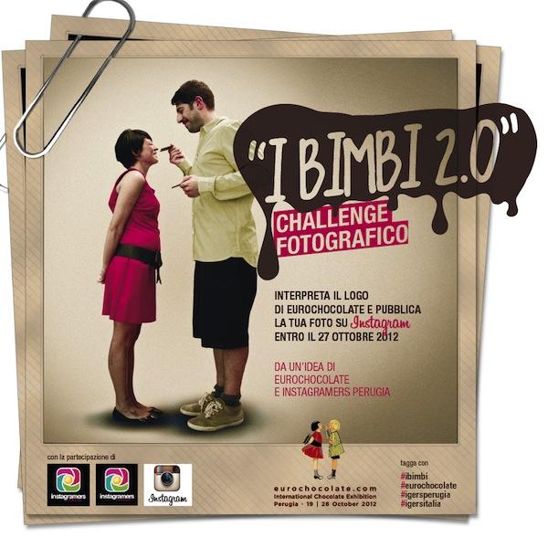 """""""I Bimbi 2.0"""" : Reinterpreta il logo Eurochocolate"""