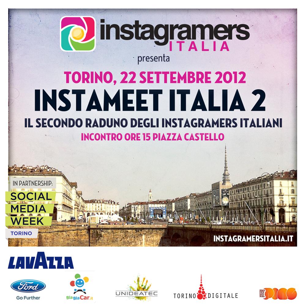 Si terrà a Torino come anteprima della SMW il 2° Instameet IgersItalia