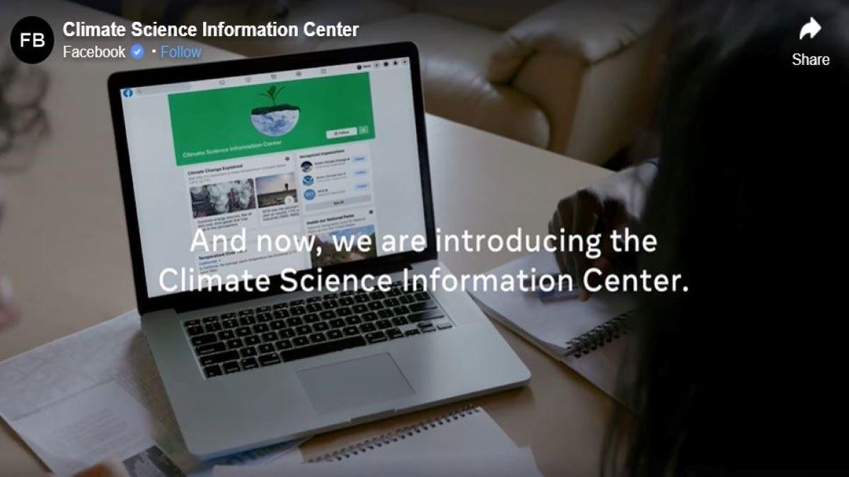 Facebook inc. e il cambiamento climatico