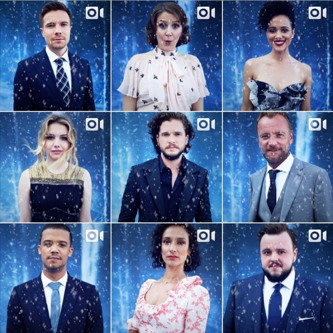 Game of Thrones: i profili Instagram ufficiali dei protagonisti