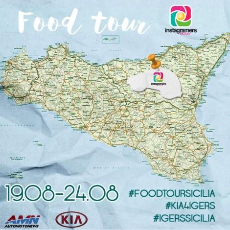 FoodTour, gli instagramers alla scoperta della Sicilia e delle sue eccellenze