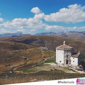 foto scelta per #italia365 – Rocca Calascio (L'Aquila) – @federicola