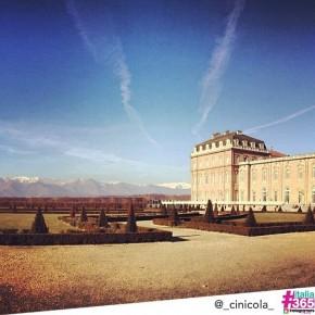 foto scelta per #italia365 – Reggia di Venarìa Reale (Torino) – @_cinicola_