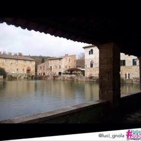 foto scelta per #italia365 - Bagno Vignoni - Siena - Toscana - @luci_gnola