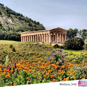 foto scelta per #italia365 - tempio di Segesta - Sicilia - @eliana_lmb