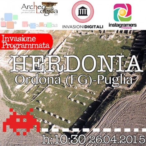 Invasioni Digitali 2015 ad Herdonia con igersFoggia