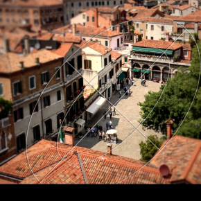 #piazzeditalia in tilt-shift