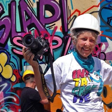 Martha Cooper: dagli anni '80 ad oggi la street art si salva solo con la fotografia!