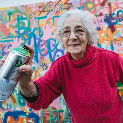 La street art per gli over 60: il progetto @lata_65