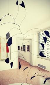 Guggenheim, Venezia. Questo scatto celebra la nascita dell'artista Calder.
