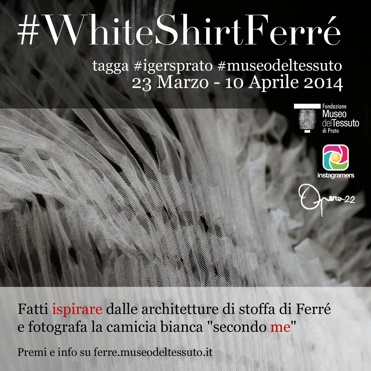 La camicia bianca secondo Gianfranco Ferré e IgersPrato