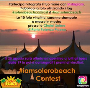 Instagram Challenge con Solero beach e Instagramers Marche