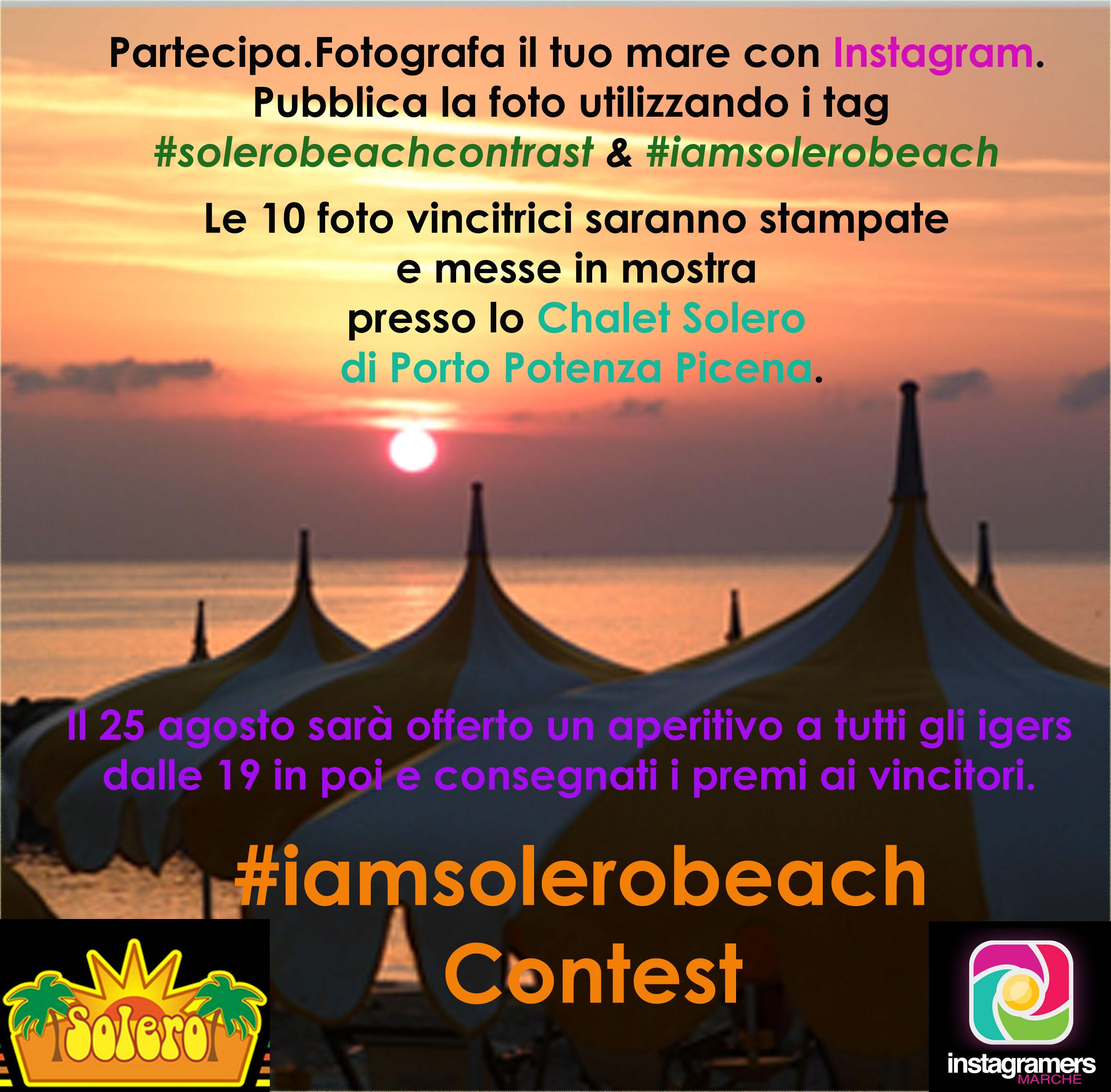Solero Beach Contrast Instagram Challenge