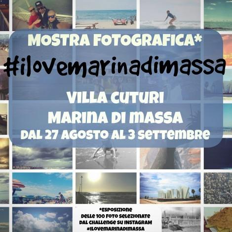 I love Marina di Massa: dal challenge alla mostra