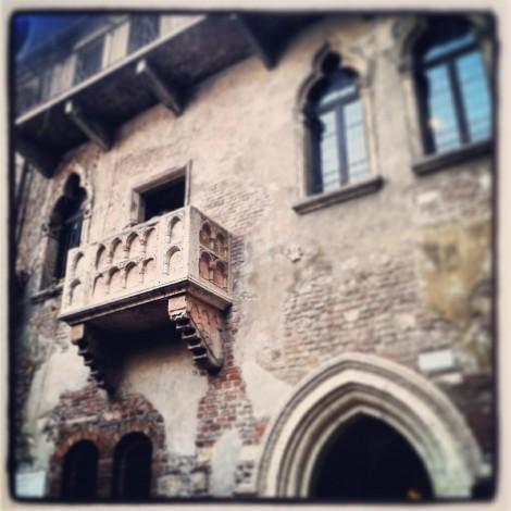 Romeo e Giulietta alla mezza maratona di Verona con Instagram