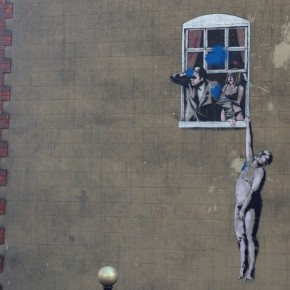 Well Hung Lover - Banksy
