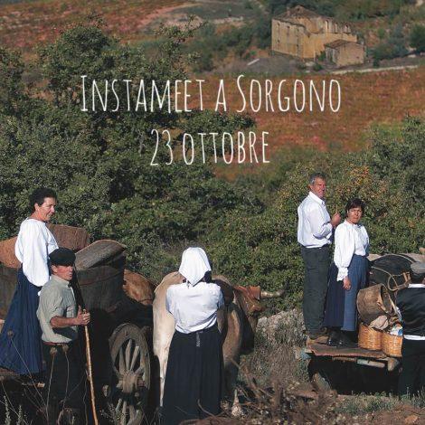 Instameet a Sorgono per l'8^ tappa di #autunnoinbarbagia16