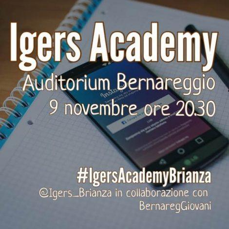 IgersAcademy con Instagramers Brianza