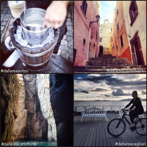 Che fare nei 377 comuni della Sardegna? Scoprilo su Instagram
