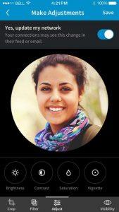 LinkedIn Photo Filters, tutti potranno avere la loro foto professionale