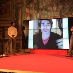 La premiazione di @lucaargentero (foto di @morenaemme)