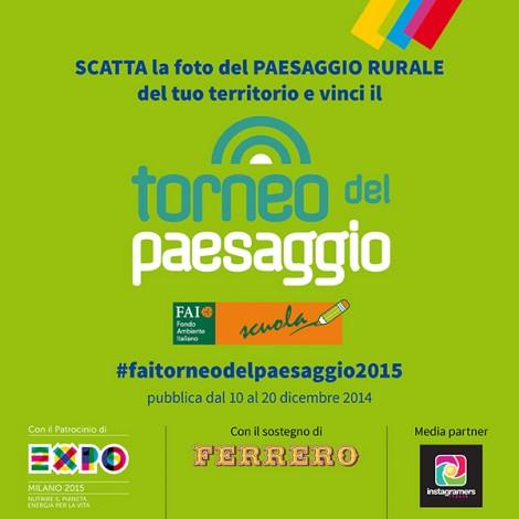 Instagramers Italia è media partner del FAI per il torneo del paesaggio