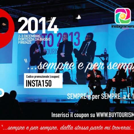 Instagramers Italia ti porta a BTO 2014 con il 38 % di sconto