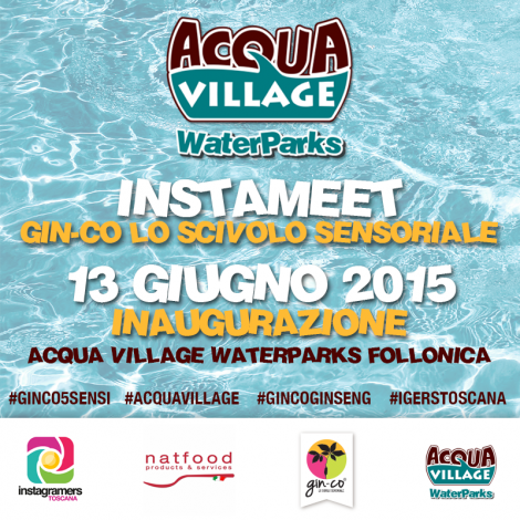 Instameet all'Acqua Village di Follonica