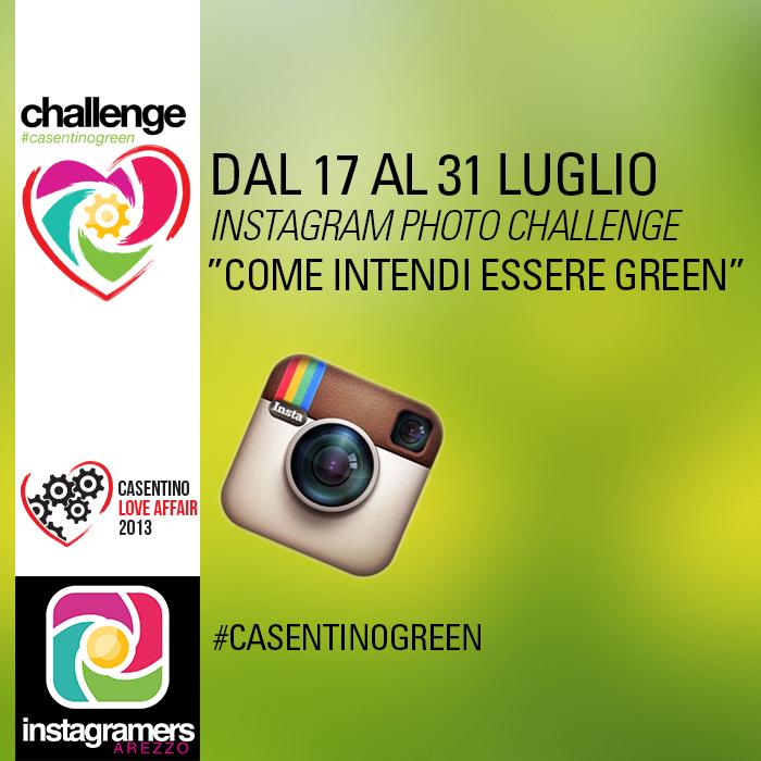 Nasce Instagramers Arezzo e lancia un challenge tutto green