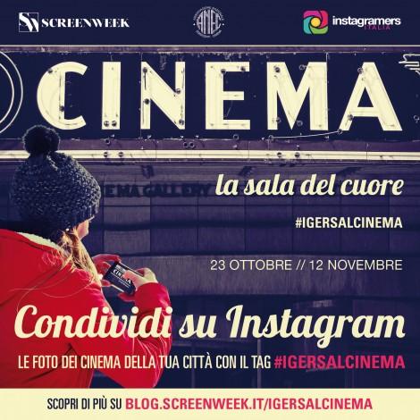 Fotografa i cinema di città con Instagram