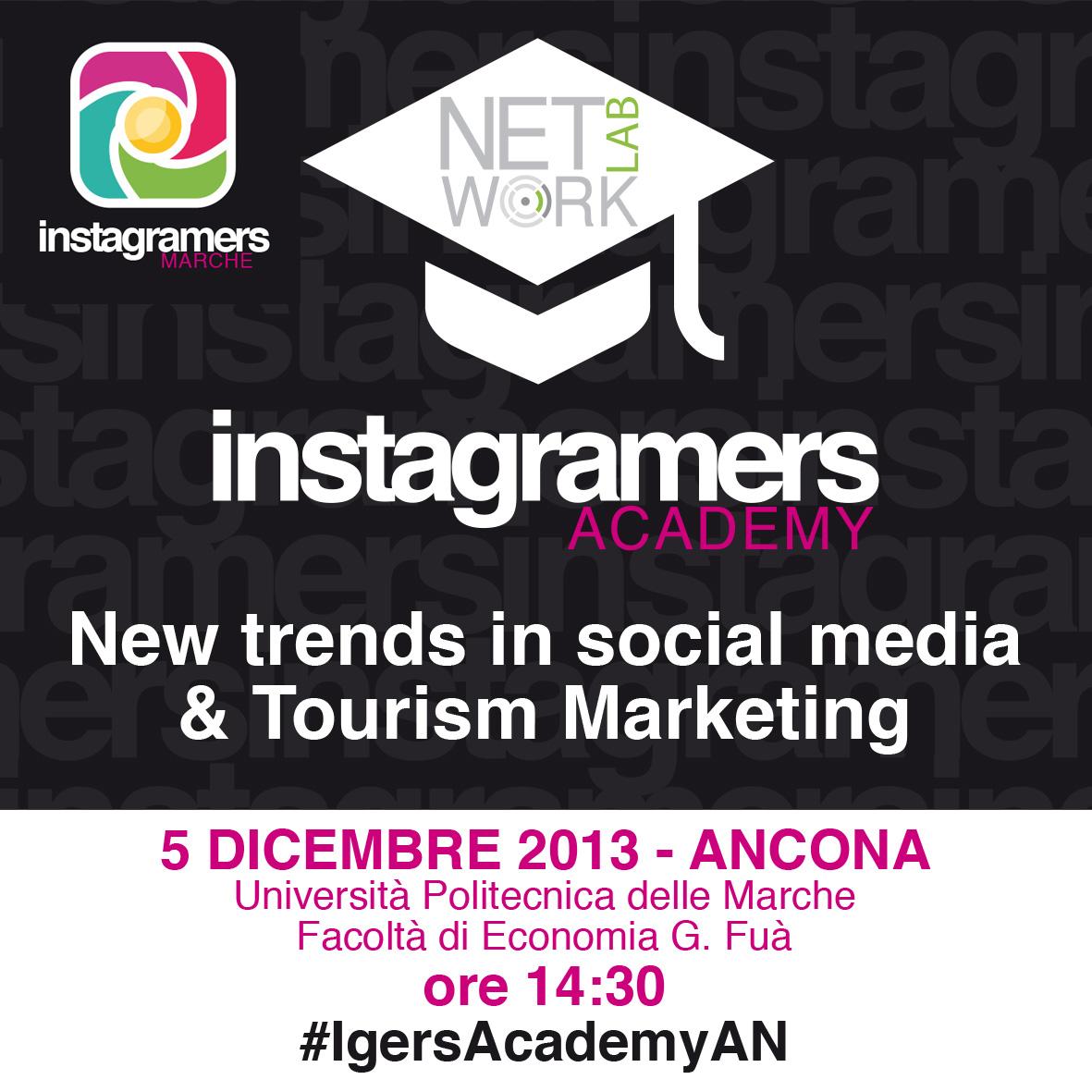 Instagramers Academy @ Università Politecnica delle Marche