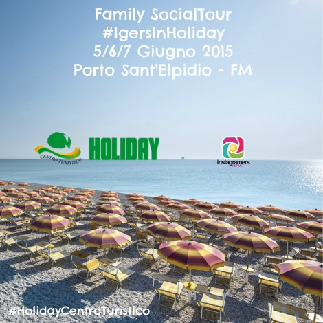 Igers IN Holiday, Family Social Tour a Porto Sant'Elpidio