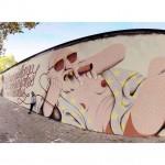 Il lavoro di @marinacapdevila per #openwalls2015 Marina in collaborazione con @reskatestudio and @amaiaarrazola, via @allcitycanvas