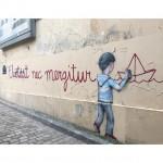 Il motto di Parigi Fluctuat nec mergitur, ph. @publigeekaire