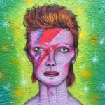 Il ritratto di David Bowie dei gemelli @osgemeos