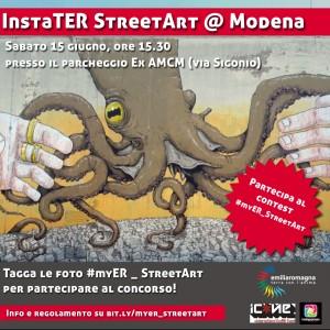 Instastreetartwalk con Igersmodena e Icone per #myER_streetart