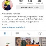 Aggiornamento Instagram mille follower mobile