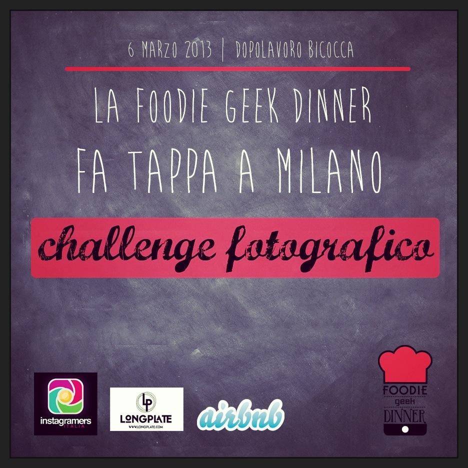 @igersitalia partner alla Foodie Geek Dinner!