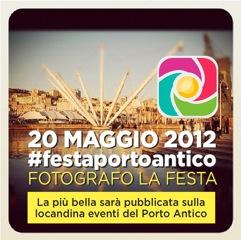 gesteggia il Porto Antico di Genova con gli Instagramers