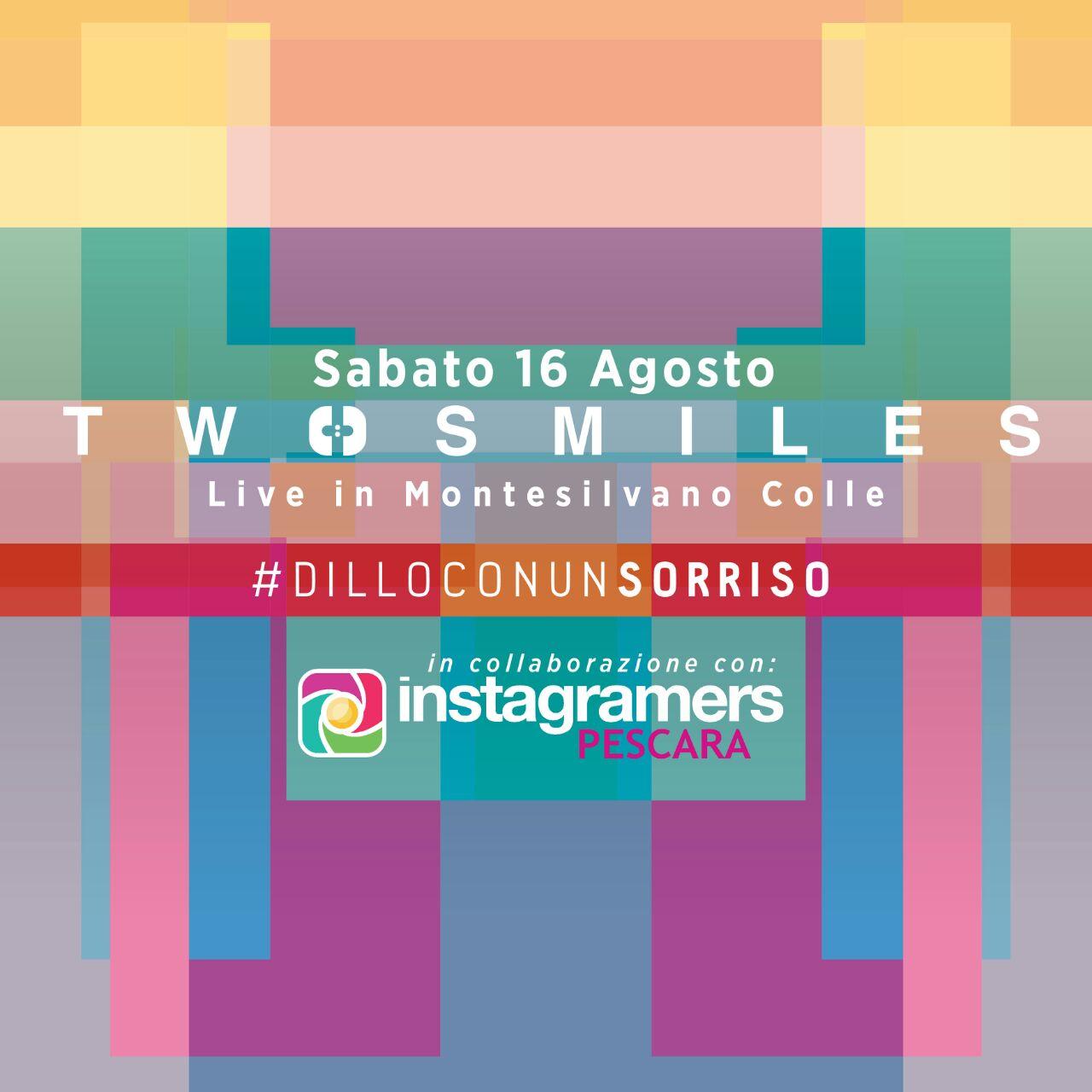 Instagramers Abruzzo Dillo con un sorriso