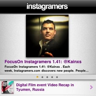 App gratuita Instagramers per iPhone
