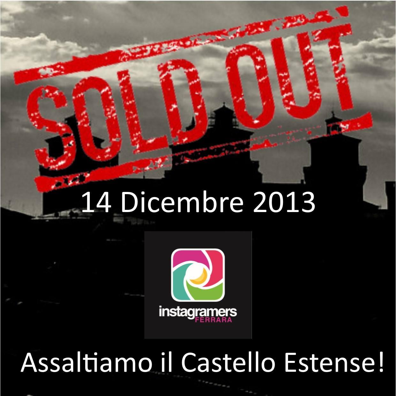 Gli igers di Ferrara all'assalto del Castello Estense!