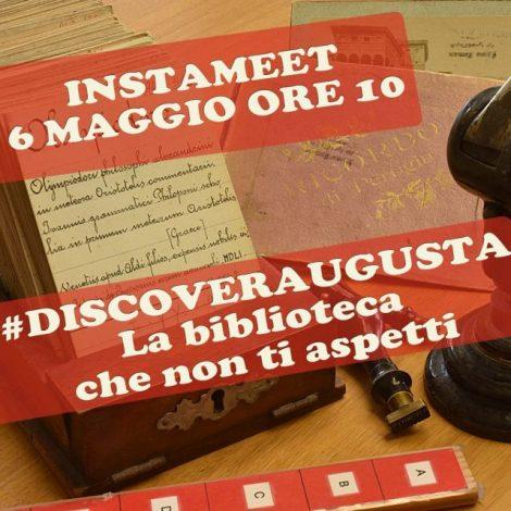 #DiscoverAugusta: la biblioteca che non ti aspetti