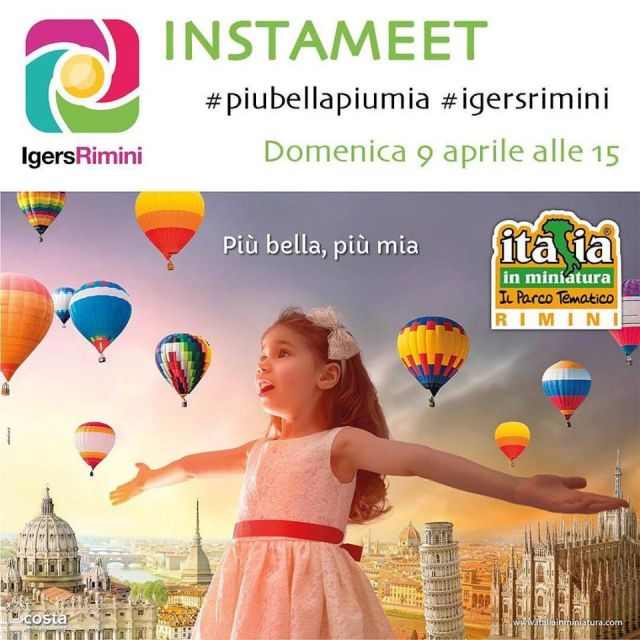 Più Bella Più Mia, #Instameet all'Italia in Miniatura con IgersRimini