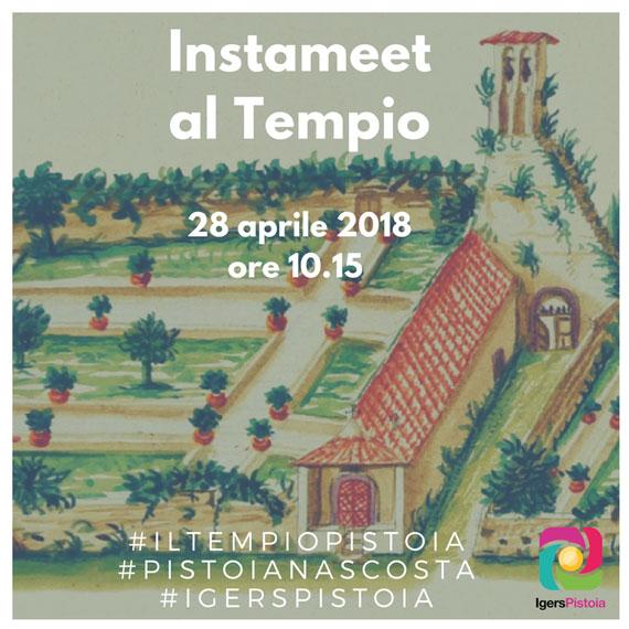 Instameet al Tempio - Pistoia 2018